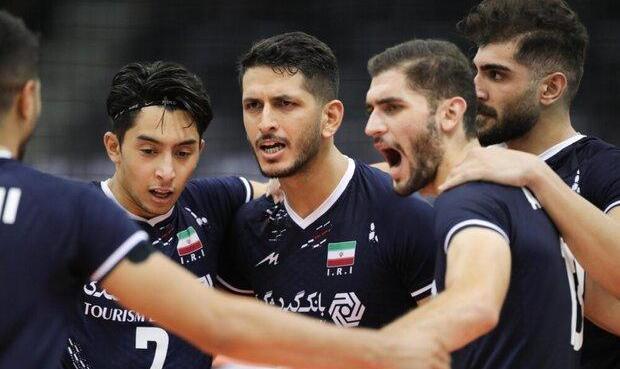 پیروزی تیم ملی والیبال ایران برابر کره جنوبی و صعود به نیمه نهایی قهرمانی آسیا