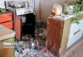 زلزله قوچان ۲۳ مصدوم در پی داشت