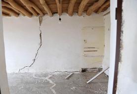 زلزله به منازل روستاییان فاروج خسارت زد
