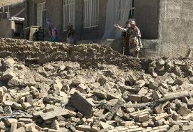 تصاویر | زلزله قوچان به ۴۲ روستا خسارت زد