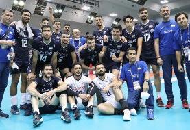 صعود والیبال ایران با صدرنشینی   پیروزی شاگردان عطایی برابر پاکستان