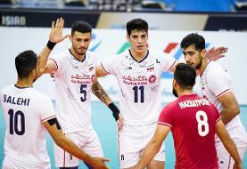والیبال قهرمانی آسیا؛ ایران پاکستان را هم شکست داد