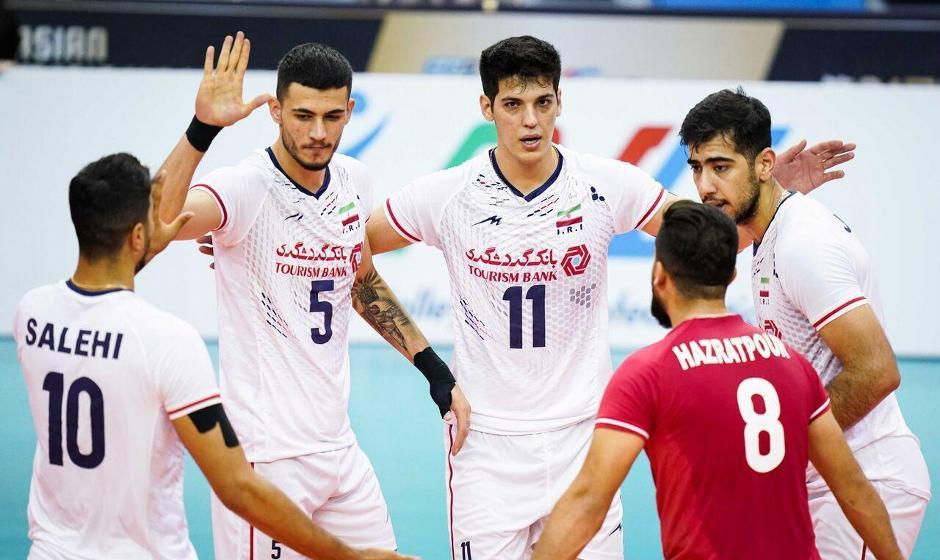 پاکستان سومین قربانی ایران در والیبال قهرمانی آسیا