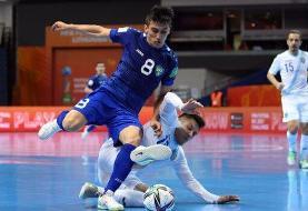 صعود دو آسیایی دیگر به یک هشتم نهایی جام جهانی فوتسال
