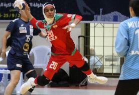 اولین شکست تیم ملی هندبال زنان در قهرمانی آسیا