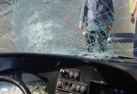 تصادف اتوبوس BRT در خط ویژه/ عابر پیاده جان باخت