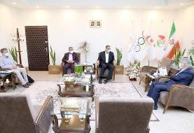 دیدار رئیس کمیته ملی المپیک با مسئولان فدراسیون ورزشهای همگانی