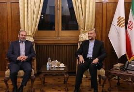 امیرعبداللهیان: دولت جدید ایران به حمایت از مقاومت توجه و تاکید دارد