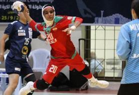 نخستین پیروزی تیم ملی هندبال زنان ایران برابر کویت