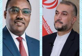 پیام وزیر امور خارجه اتیوپی به امیر عبداللهیان