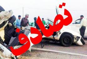 برخورد پژو و سمند در مسجدسلیمان/  ۷ مصدوم