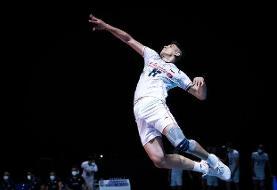 درخشش مجدد صابر کاظمی این بار مقابل والیبال کره جنوبی