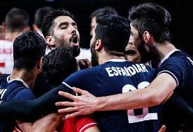 رنکینگ جدید فدراسیون جهانی والیبال اعلام شد /  ایران صدرنشین آسیا