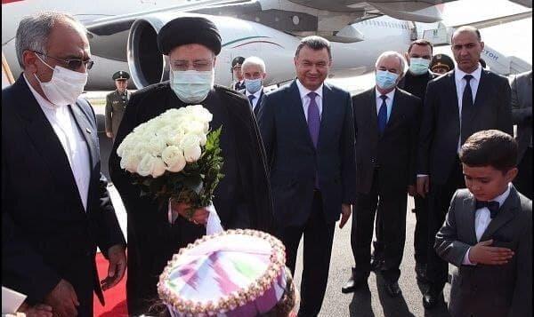 ویدئو | رئیسی وارد دوشنبه شد |  استقبال رسمی مقامات تاجیکستان از رئیس ...