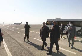 وزیر بهداشت وارد کرمانشاه شد