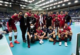 والیبال ایران چین تایپه را هم برد