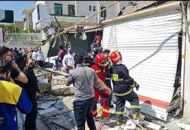 Explosion in Karaj Nazarabad bazaar
