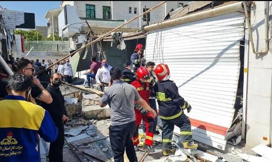 انفجار در بازارچه نظرآباد کرج
