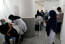 نظر سنجی از مراجعان به مراکز واکسیناسیون با پیامک