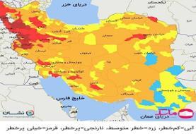 تهران از وضعیت قرمز خارج شد