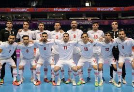 جام جهانی فوتسال/ پیروزی ایران مقابل آمریکا