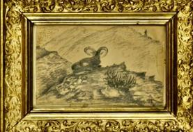 تصاویر |  نقاشیهای ناصرالدین شاه در کاخ جهانی گلستان رونمایی شد
