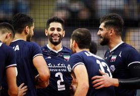 ایران ۳ - چین تایپه صفر/ خط و نشان جوانان والیبال ایران برای قدرتهای آسیا