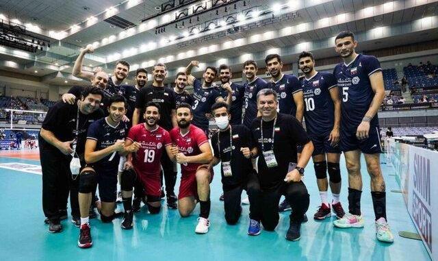 ایران - چین؛ رقابت حساس شاگردان عطایی در نیمهنهایی والیبال قهرمانی آسیا