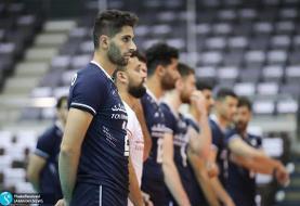 مسابقات والیبال قهرمانی آسیا / ایران ۳ - چین تایپه صفر