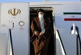 بازگشت رئیسی به تهران