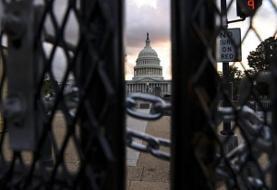 آمادگی پلیس آمریکا برای مقابله با تظاهرات مقابل کنگره