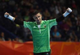 دروازهبان آرژانتین: ایران تیم سرسختی است/ دنبال پیروزی هستیم