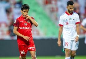 گرد و خاک ستاره ایرانی در لیگ امارات / قایدی در یک نیمه دبل کرد