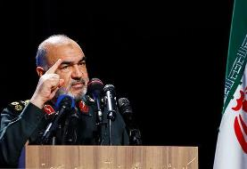 سردار سلامی: امروز دنیا به ملت ایران غبطه میخورد