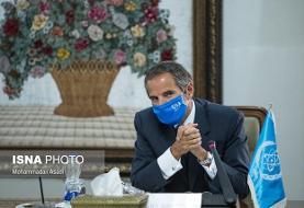 گروسی: امیدواریم به مسائل اضطراری هسته ای ایران رسیدگی کنیم