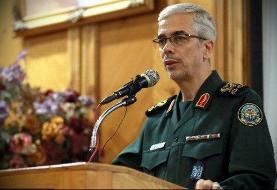 تبریک سرلشکر باقری به  فرمانده نیروی هوایی ارتش