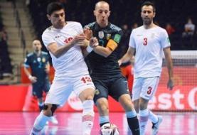 جام جهانی فوتسال/ شکست ایران مقابل آرژانتین