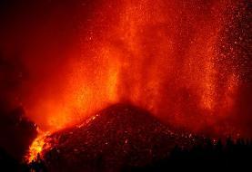 فوران آتشفشان جزایر قناری (عکس)/ تخلیه ۵ هزار نفر