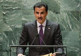 راه حل امیر قطر برای حل اختلاف با ایران