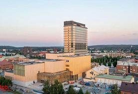از بلندترین ساختمانهای چوبی جهان در سوئد(+عکس)