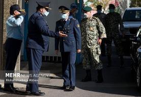 مراسم تکریم فرمانده سابق و معارفه فرمانده جدید نیروی هوایی ارتش