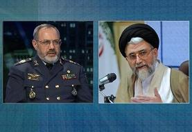 پیام تبریک وزیر اطلاعات برای انتصاب جانشین رئیس ستاد کل نیروهای مسلح