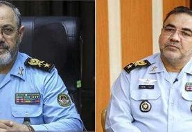 آیین تکریم و معارفه فرماندهان قدیم و جدید نیروی هوایی ارتش برگزار شد