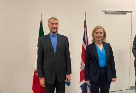 رایزنی وزیران امور خارجه ایران و انگلیس