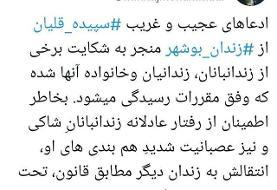 توضیح حاج محمدی درباره انتقال سپیده قلیان به زندان دیگر