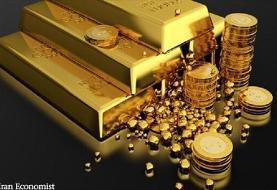 قیمت طلا و سکه در ۳۱ شهریور