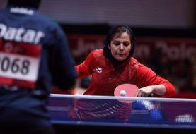 حذف تیمهای دوبل زنان ایران  از تور جهانی قطر/ ندا شهسواری در بخش انفرادی برنده شد