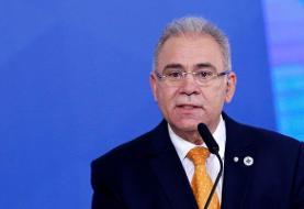 ابتلای وزیر بهداشت برزیل به کرونا در سازمان ملل