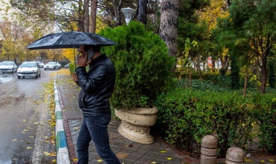 بارش باران و رعد وبرق در برخی استانها