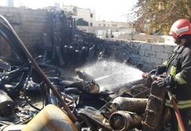 انفجار یک کارگاه سوخت گیری گاز در شیراز/ سوختگی ۳ کارگر